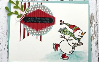 Spirited Snowmen card