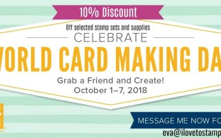 World Card Making Day Specials