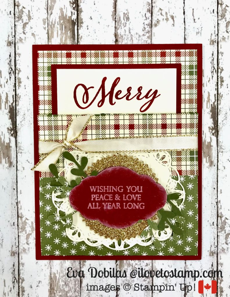 Merry Christmas Gift Card Holder - I Love to Stamp