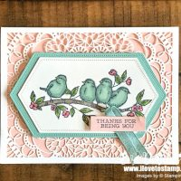 Free as a Bird Card Laser-cut Card and More Paper Share!