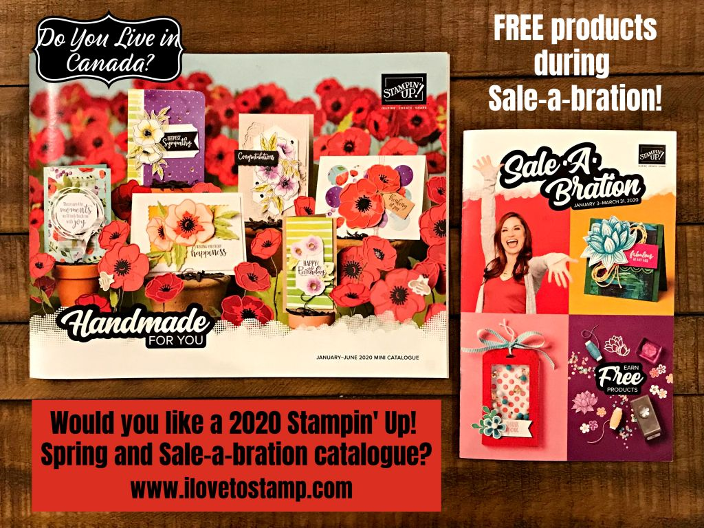 2020 Stampin Up Spring and Sale-a-bration Catalogue