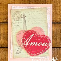 Parisian Beauty Amore Card