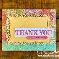 Ornate Garden Suite Card