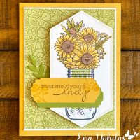 Jar of Flowers Card
