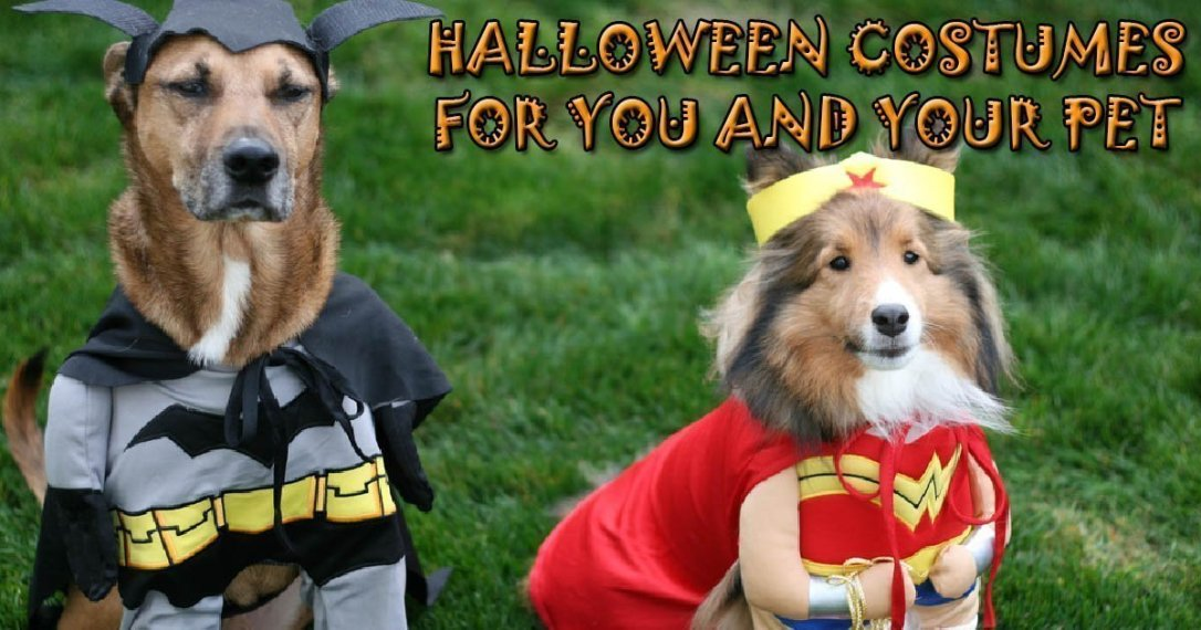 Halloween Costumes for you and your Pet