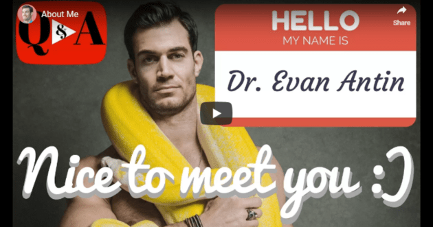 About Dr. Evan Antin
