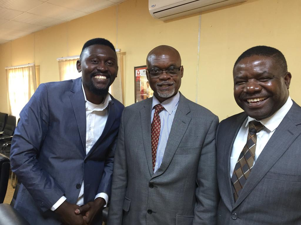 B Flow Appointed As HIV Male Engagement Champions In The Ministry of Health.