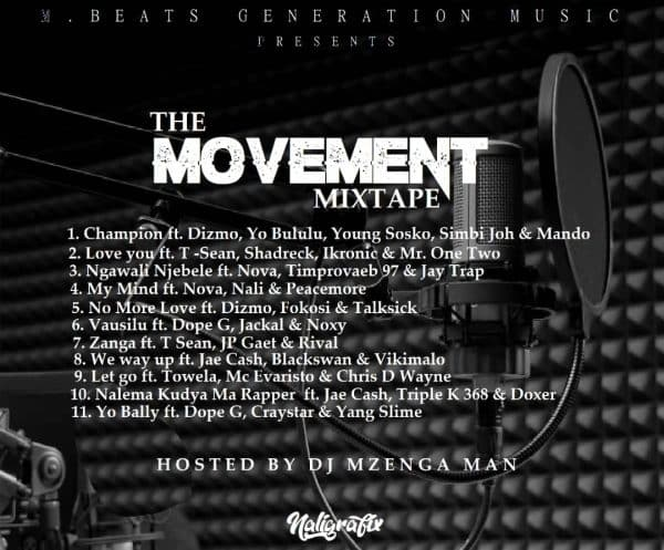 DJ Mzenga Man - The Movement (Mixtape)