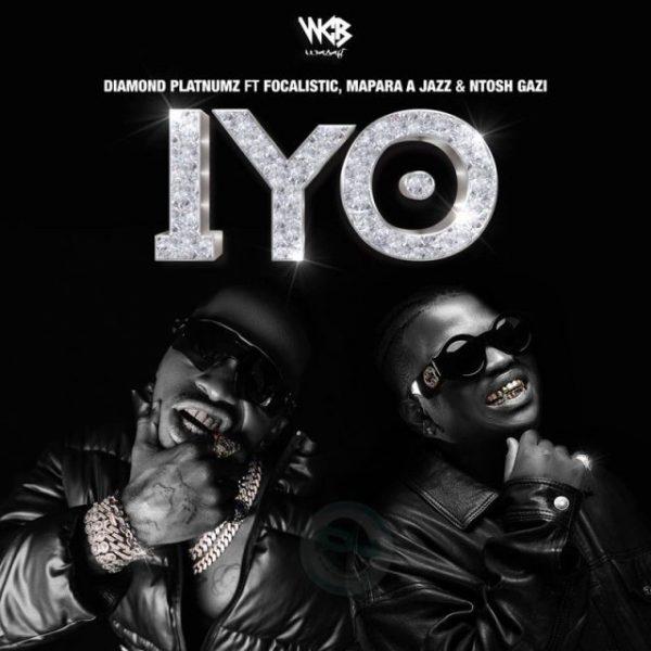 "Diamond Platnumz ft. Focalistic, Mapara A Jazz, & Ntosh Gazi – IYO ""Mp3 Download"""