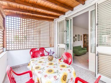 la veranda del monolocale Il Paesino la veranda