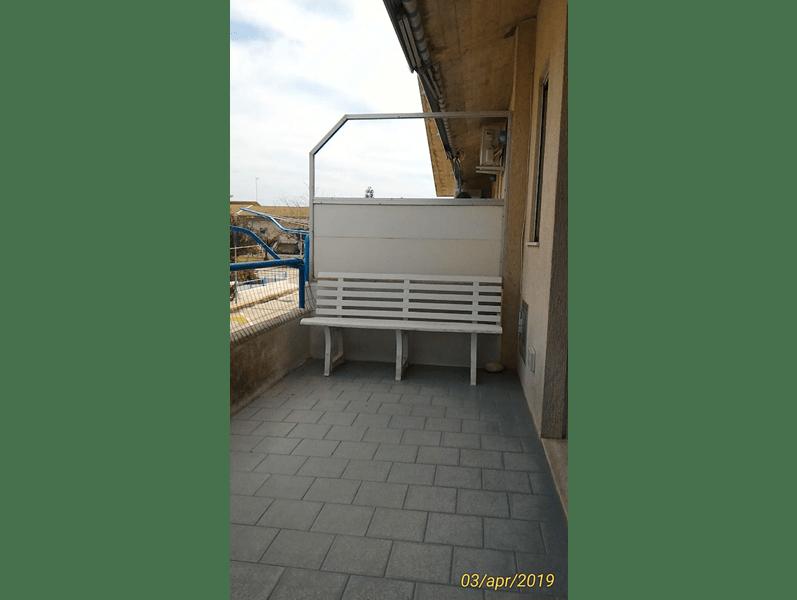 villaggio azzurro di casuzze balcone