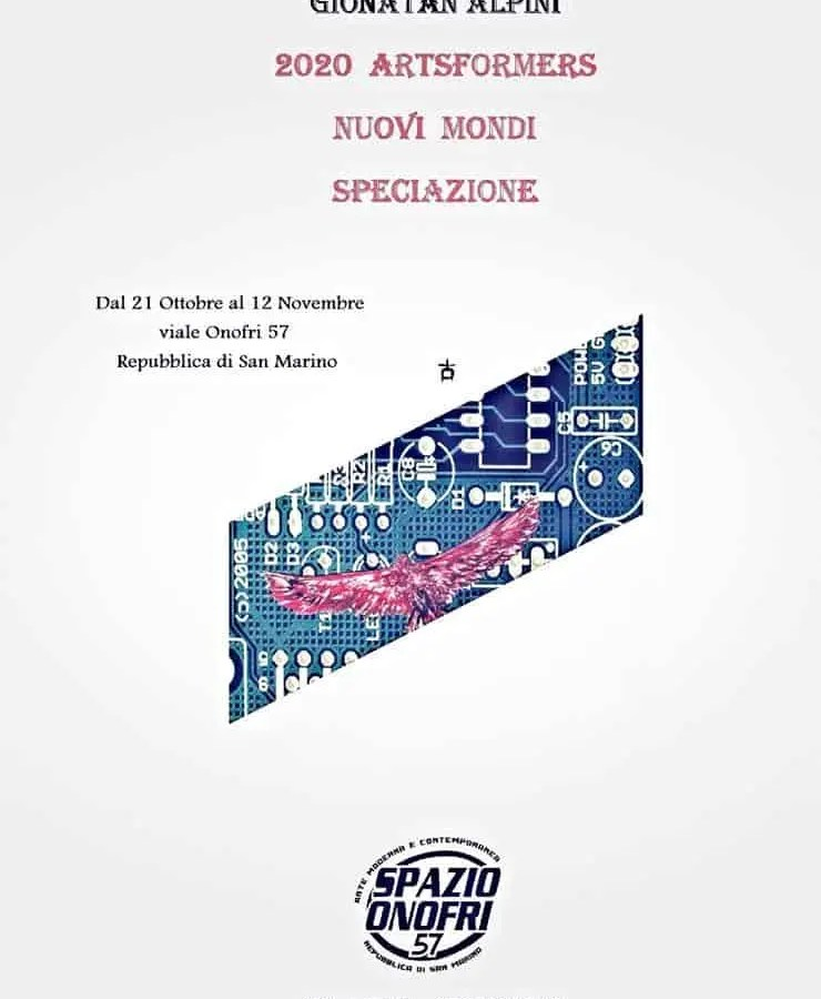 Gionatan Alpini – 2020 Artsformers – Nuovi Mondi – Speciazione