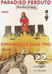 Emmanuelle Sigal Trio   Israele