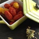 Pomodorini al forno con origano di Sicilia