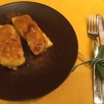 Cuori di merluzzo, zafferano e paprika