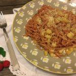 Tagliatelline al teroldego con burro salato, parmigiano  e patate