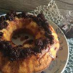 Torta di mascarpone al forno con more sciroppate