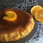 Torta all'arancia con sciroppo all'arancia