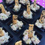 Mousse di mortadella e pistacchi con crostini al sesamo