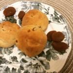 Panini alle albicocche secche e miele di bosco