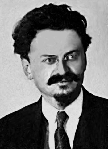 Lev Trotskij, a capo dell'Armata Rossa negli anni della guerra civile