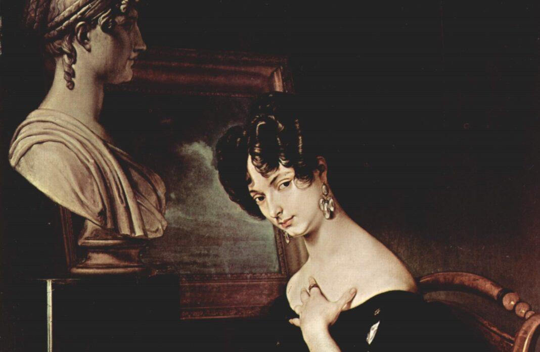 Cristina Trivulzio di Belgiojoso - ritratto di Francesco Hayez - Wikipedia