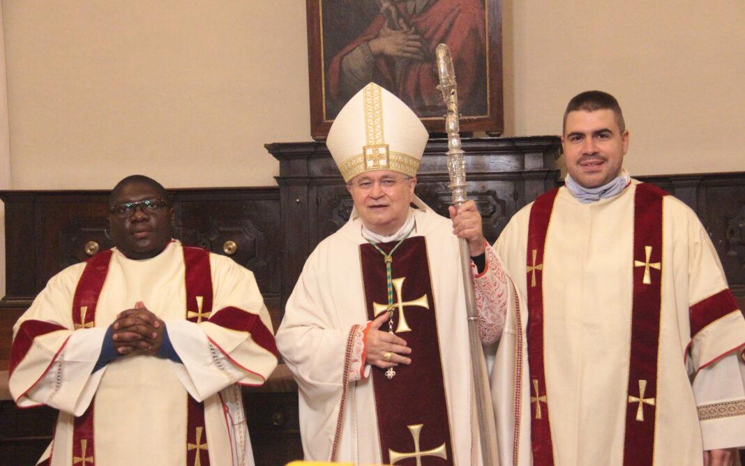 Michel Bom_il vescovo Mario_Emanuele Casadio