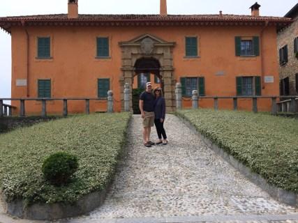 The Hannings at Montevecchia