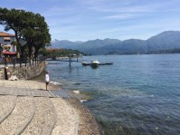 On the Lake Como Greenway in Lenno