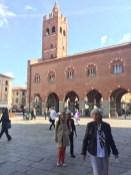 The main piazza at Monza
