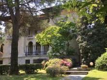 The villa again