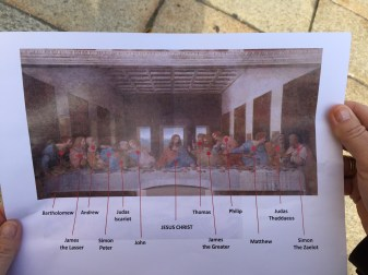 Who's who in the Last Supper