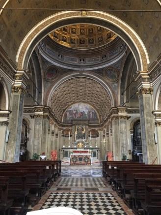 The marvellous trompe l'oeil choir of San Satiro by Brunelleschi