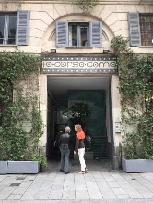 The entrance to 10 Corso Como
