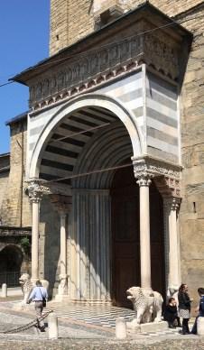 The south portal of Santa Maria Maggiore
