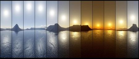 Sole di Mezzanotte dalla Norvegia