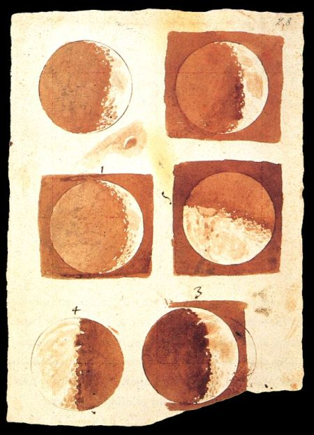Sidereus Nuncius - La Luna di Galileo