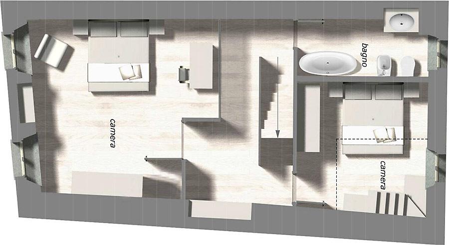 Appartamenti in affitto a Cortona e lussuosi loft per affitti turistici in Toscana