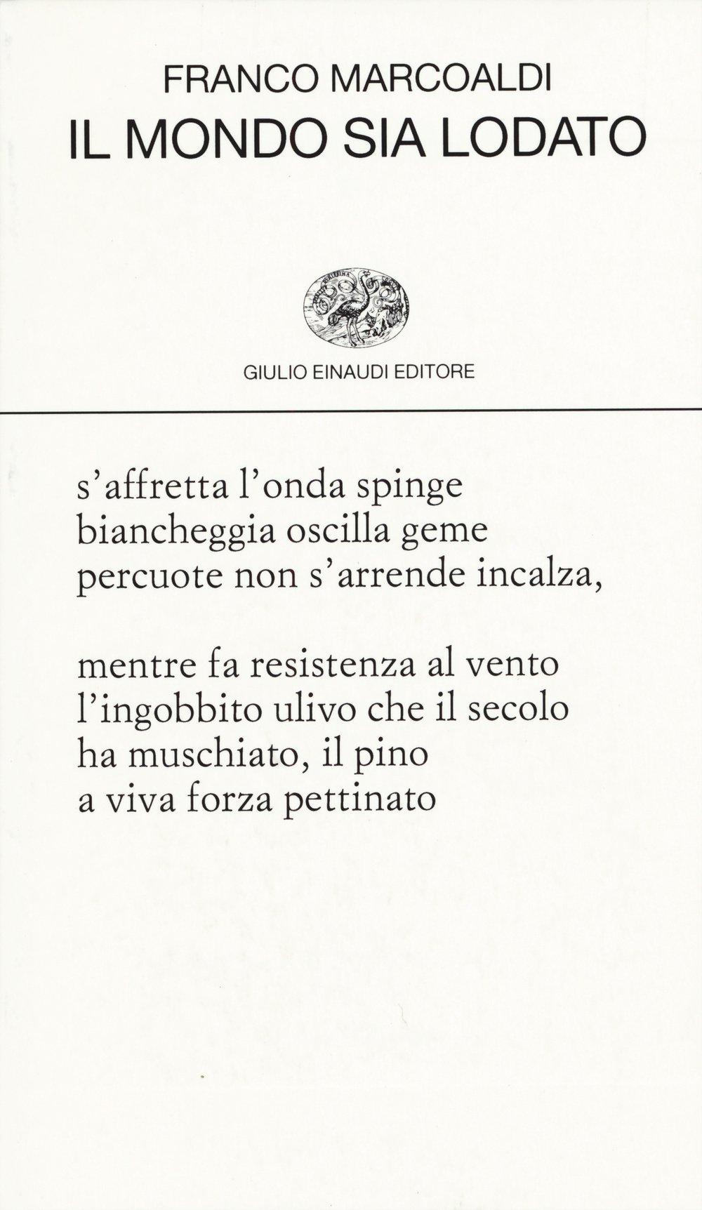 Franco Marcoaldi, Einaudi