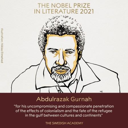 Abdulrazak Gurnah, Premio Nobel Letteratura