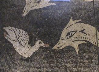 mosaico romano, arezzo