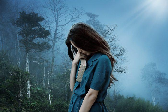 Tristezza dialogo poesia il Principe donna blu