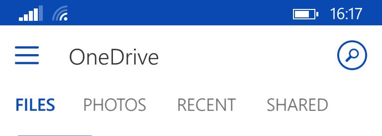 OneDrive per Windows Phone riceve un nuovo importante aggiornamento (1/4)