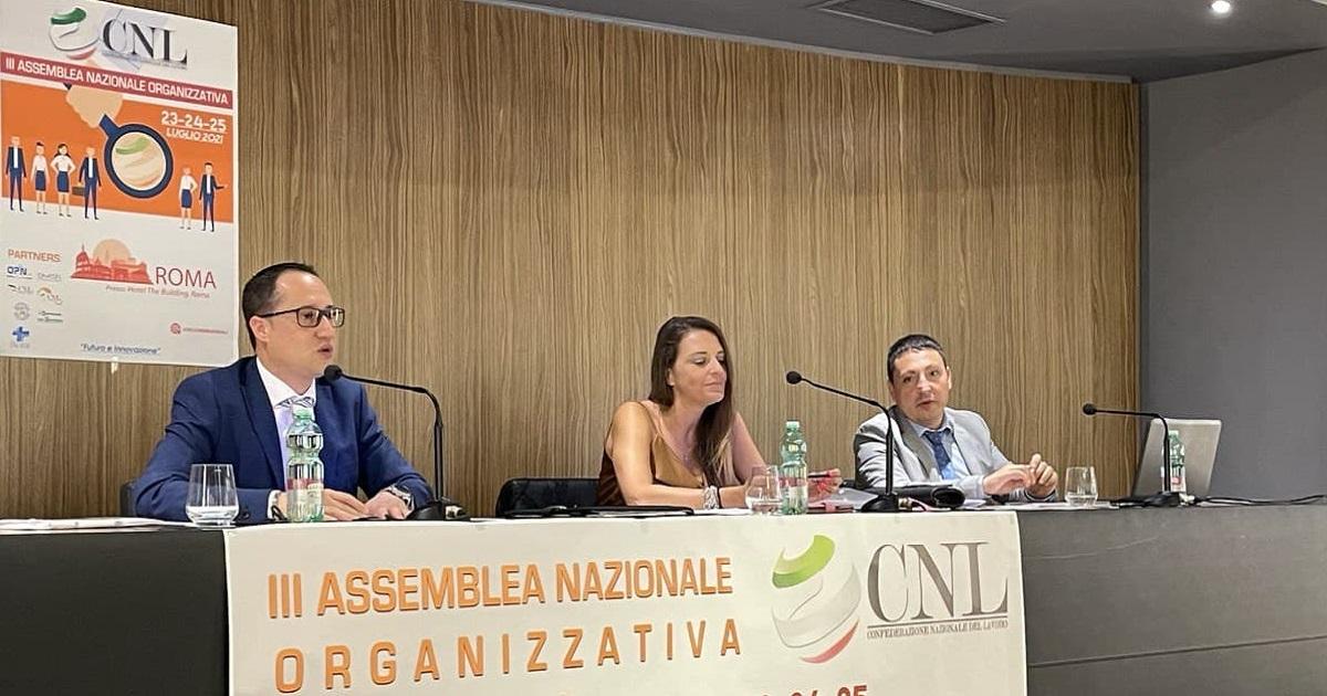 III Assemblea Nazionale Organizzativa CNL, un grande successo