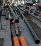 Lavori metano scavo posa rete gas