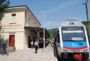 treno stazione san pietro apostolo ferrovia della calabria