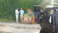 Massimo Mercuri foto con telecamera
