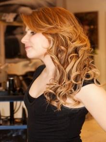 #ilsalonediviamessina #isargassi #capelli#ondulati#degradè