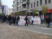 studenti blocco autostrada (4)