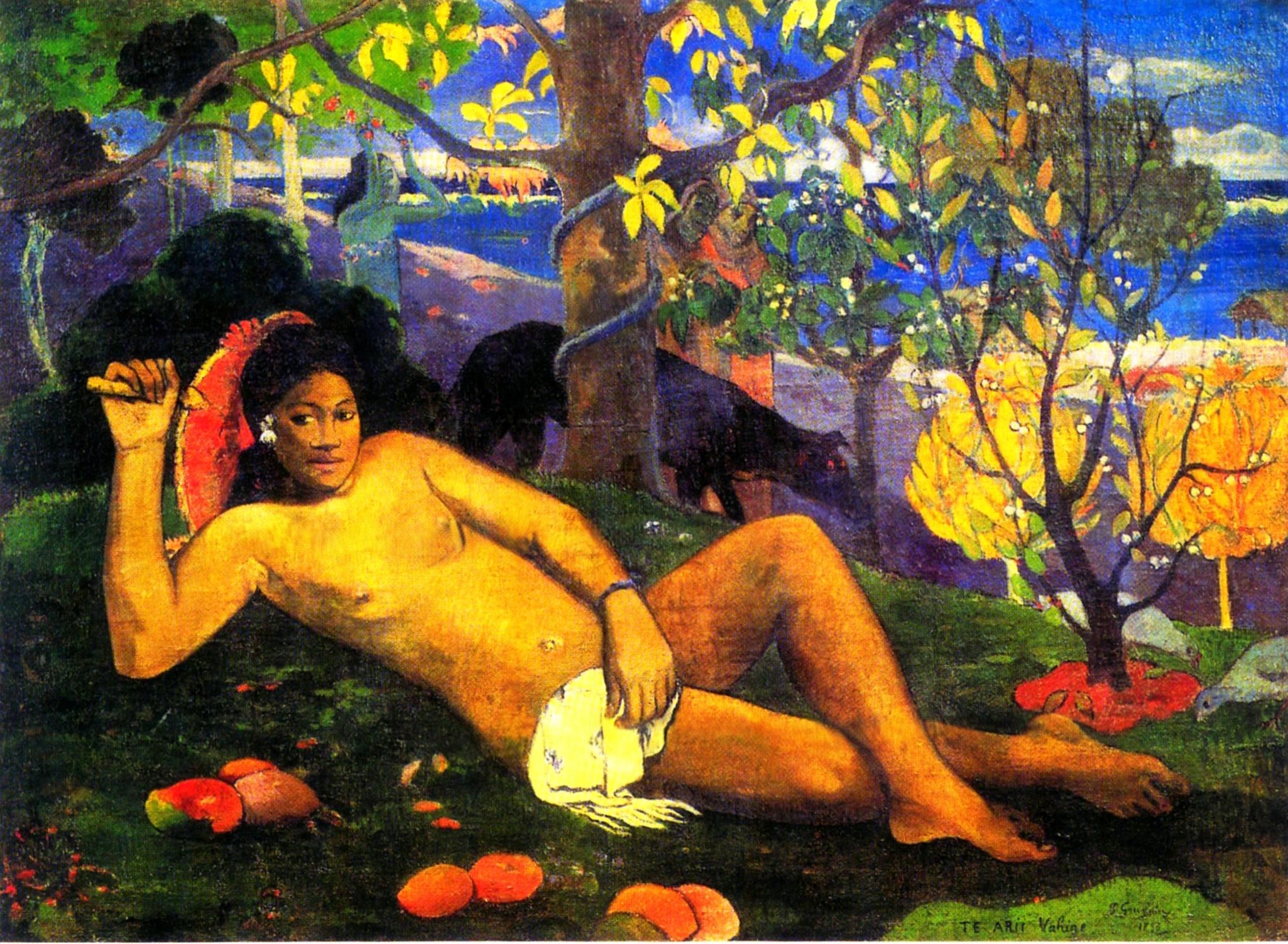 Paul Gauguin  Il sasso nello stagno di AnGre